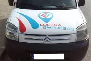Rotulacion de Furgoneta Lucenaempresas