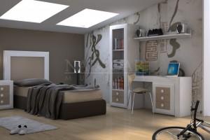 Dormitorio Juvenil - Naycar Mobiliario