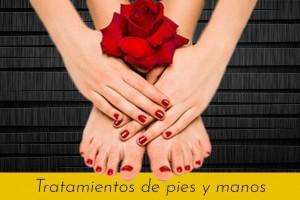 Tratamientos de pies y uñas